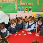 Nursery & Reception making bread