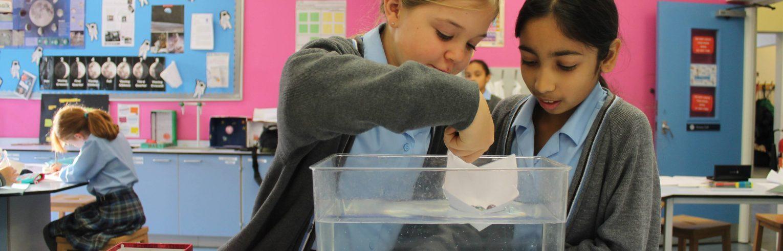 Science in Girls Prep School