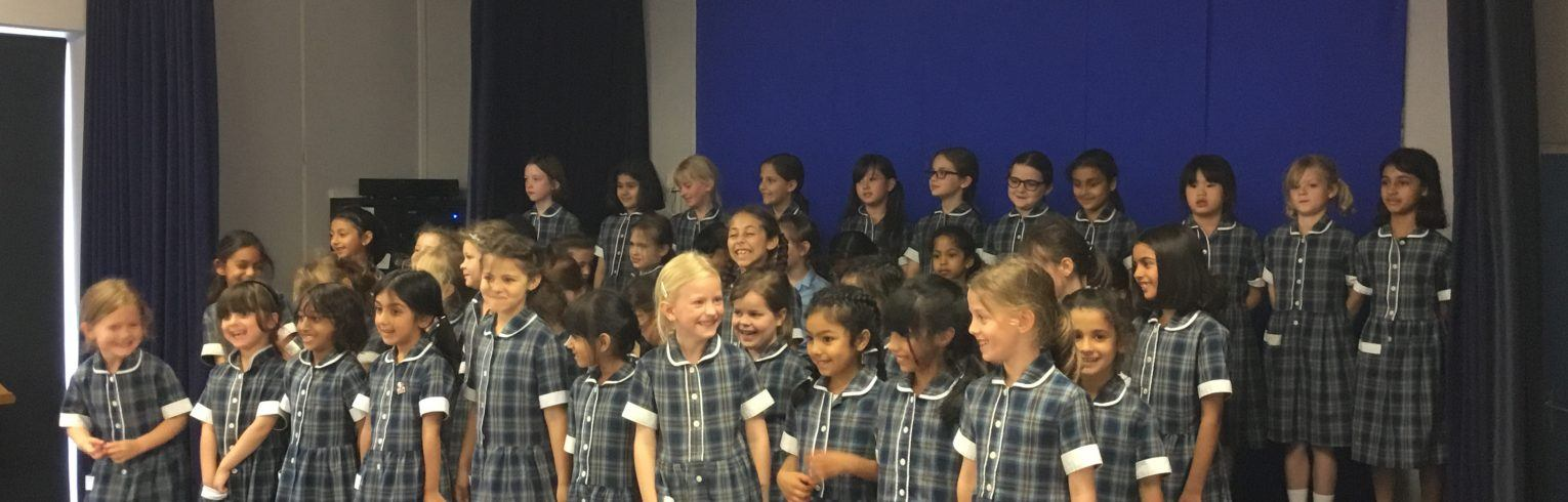 Year 1,2 & 3 music concert