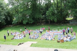 Picnic for the Queen's 90th Birthday
