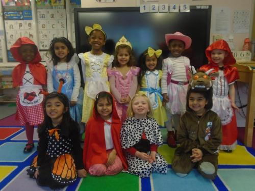 Nursery - World Book Day Mar 2019