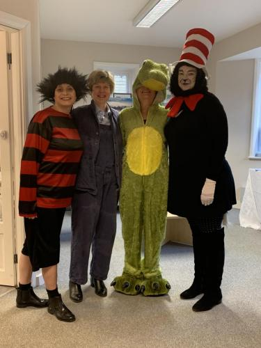 Office Staff - World Book Day Mar 2019