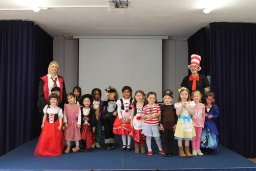 Reception - World Book Day Mar 19